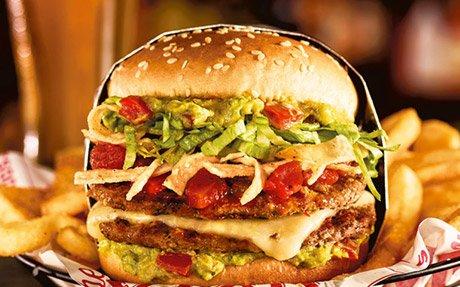 همبرگر و دوبل برگر