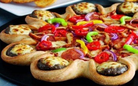 پیتزا ایتالیایی پیتزا امریکایی